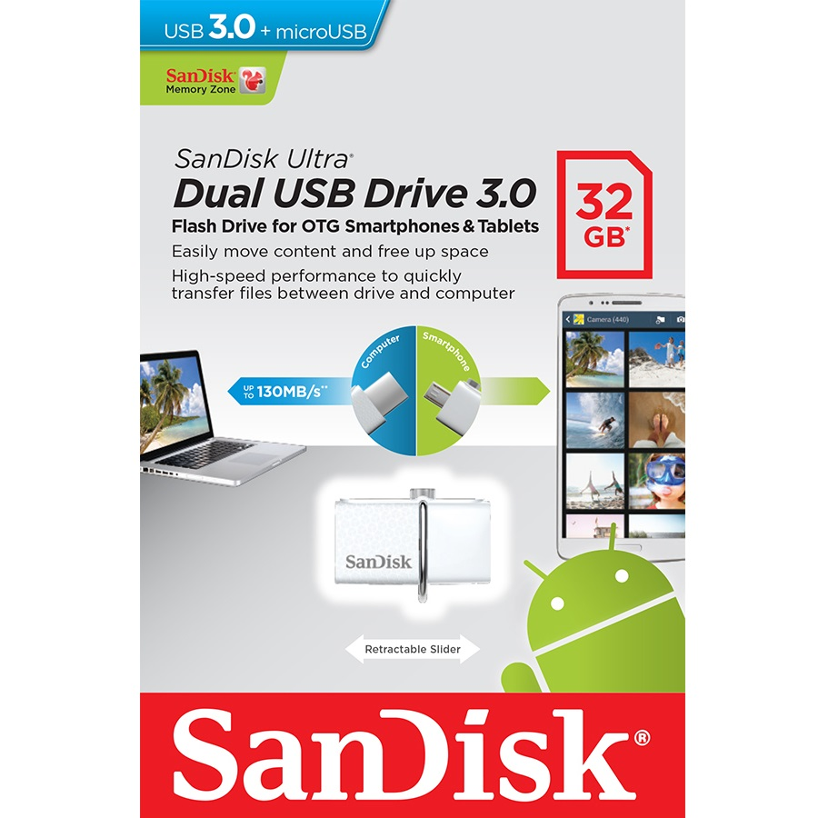 Flashdisk Sandisk otg 32gb
