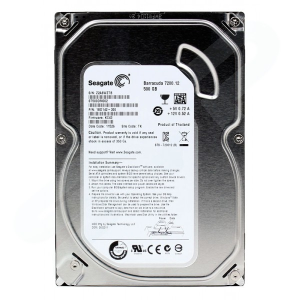 Harddisk Internal Seagate 500GB