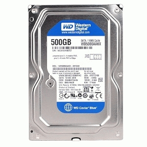 Harddisk Internal WD Blue 500GB