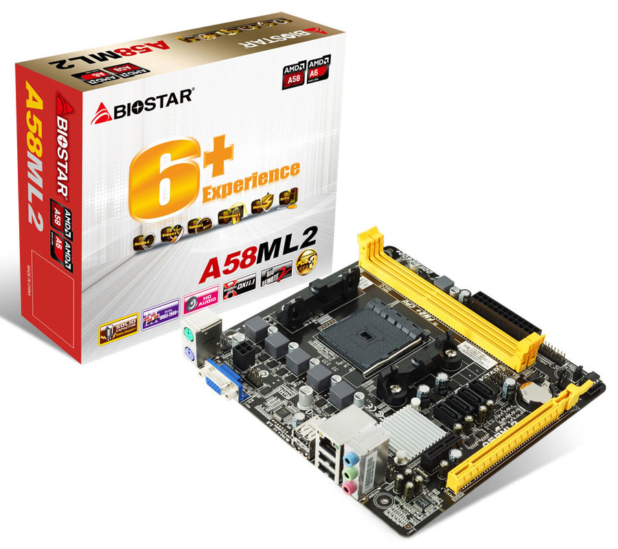 Mainboard BIOSTAR A58ML-2