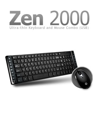 Mouse & Keyboard Power Logic ZEN 2000