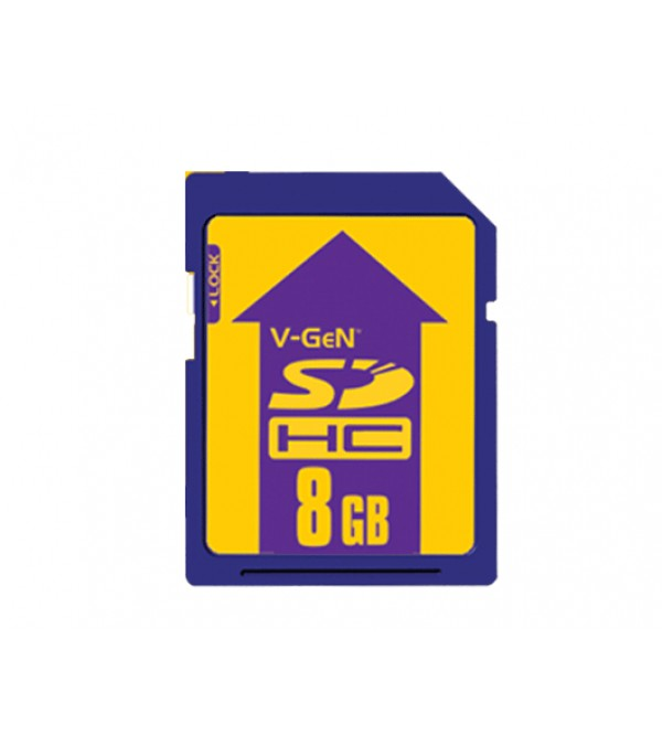 SD Card 8GB Vgen
