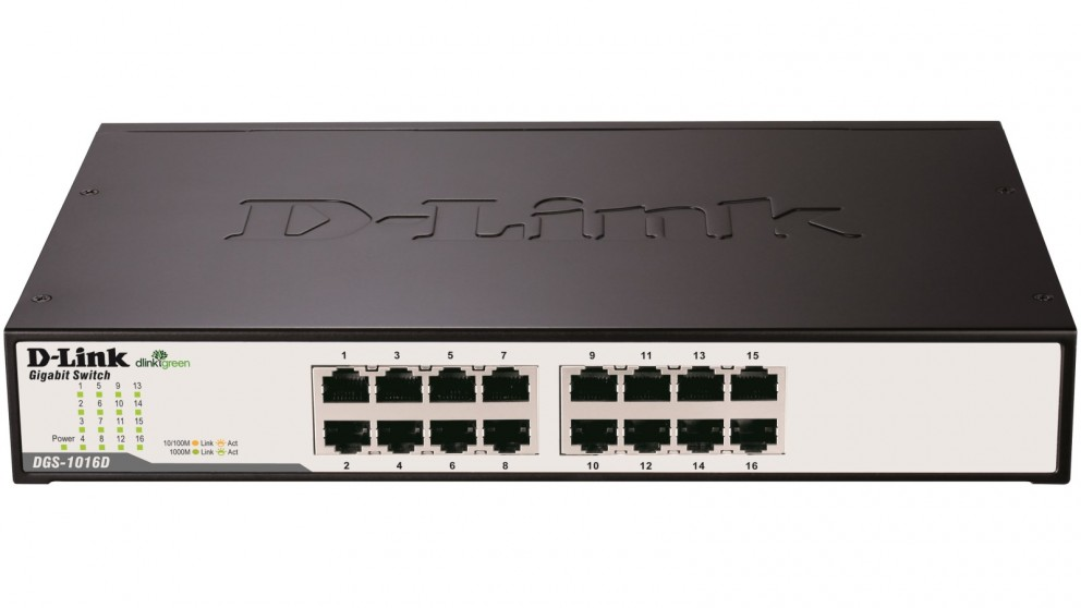 SWITCH D-LINK 16 Port DGS-1016