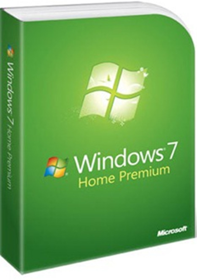 Windows 7 Home Premium 32 - 64 bit