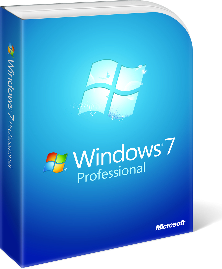Windows 7 Professional 32 - 64 bit